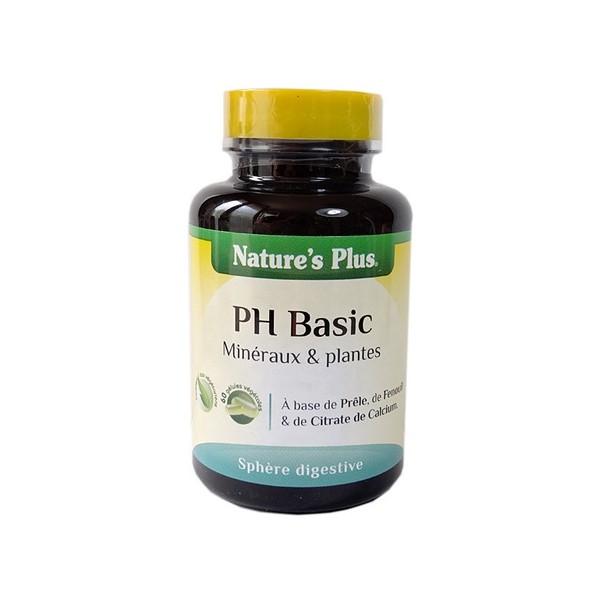 Nature's plus ph basic 6o gélules