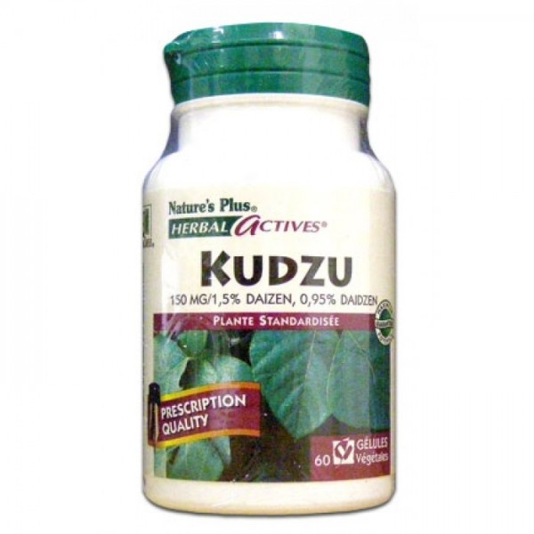 Nature's plus herbal actives kudzu 60 gélules