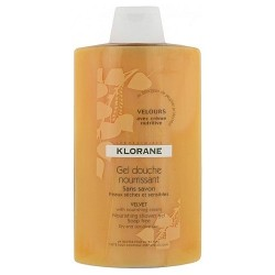 Klorane gel douche nourrissant velours 400ml