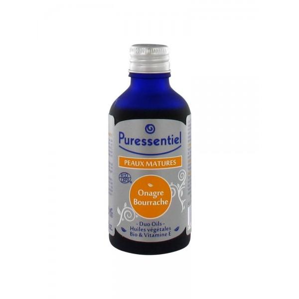 Puressentiel duo oils peaux matures onagre bourrache 50 ml