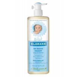 Klorane bébé gel douceur moussant 500 ml