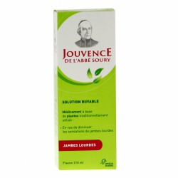 Jouvence de l'abbé soury solution buvable 210ml