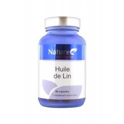 Nature attitude huile de lin 60 capsules