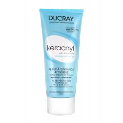 Ducray keracnyl gel moussant visage et corps 200ml