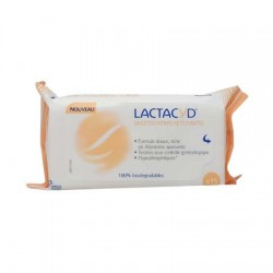 Lactacyd lingettes intimes nettoyantes x 15