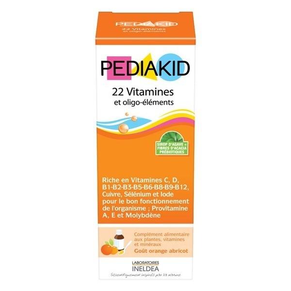 Pediakid 22 vitamines & oligo-éléments 250 ml