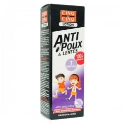 Cinq sur cinq lotion anti poux & lentes 100 ml