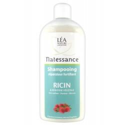 Natessance shampooing réparateur fortifiant ricin 500ml