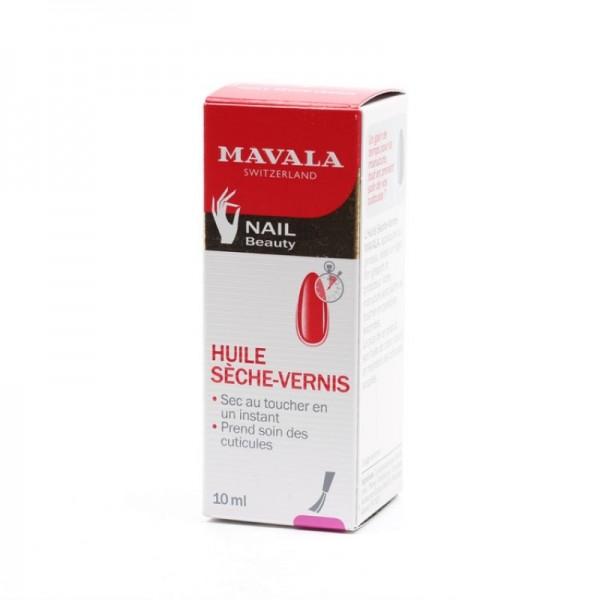 Mavala huile sèche vernis 10ml