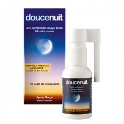 Douce Nuit spray gorge anti-ronflement 60ml