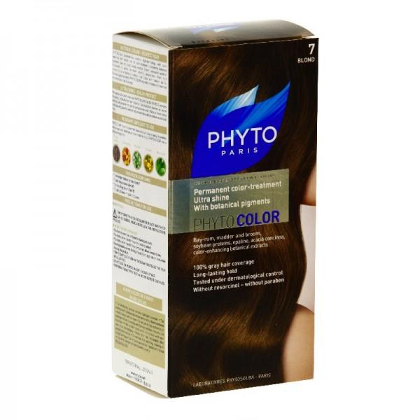 phyto color couleur soin 7 blond kit pharmacie de fontvieille. Black Bedroom Furniture Sets. Home Design Ideas