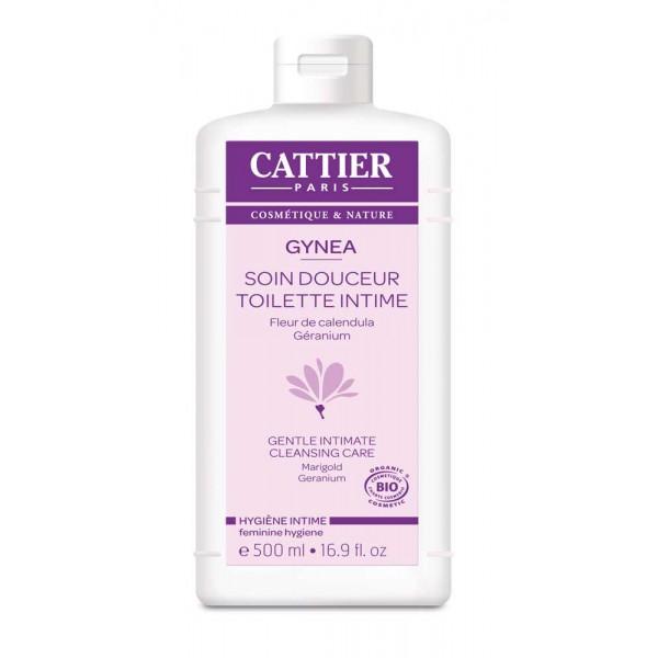 Cattier gynea gel toilette intime bio 500ml