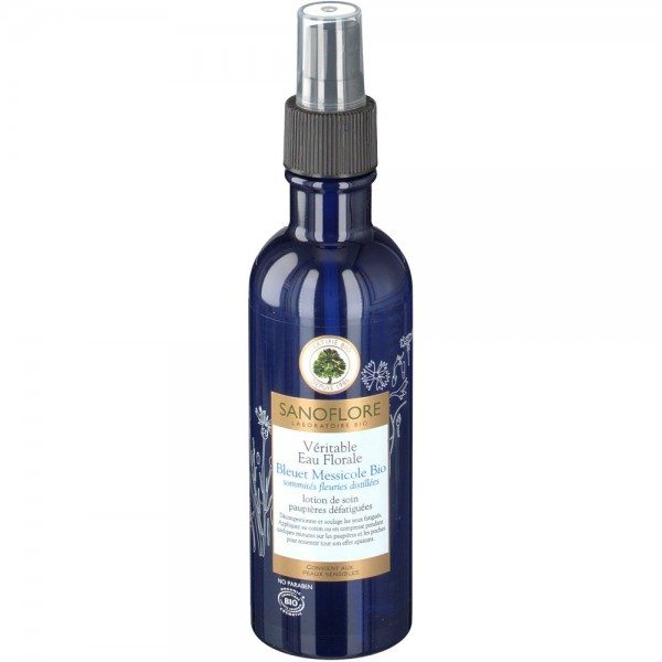 Sanoflore véritable eau florale de bleuet 200ml