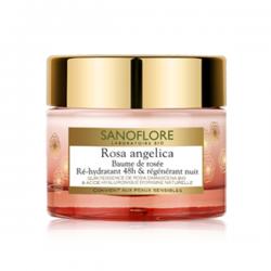 Sanoflore rosa angelica baume de rosée nuit 50ml