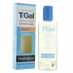 Neutrogena t-gel sensitive shampooing antipelliculaire 125ml