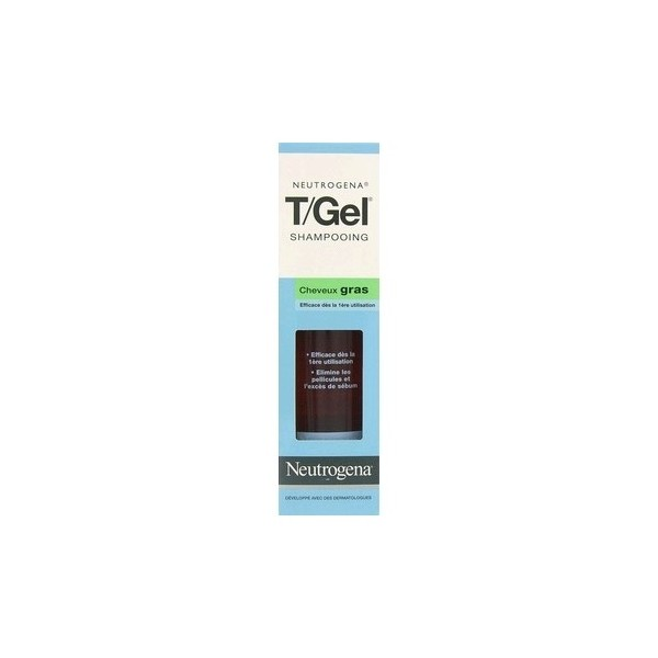 Neutrogena t gel shampooing cheveux gras 250ml