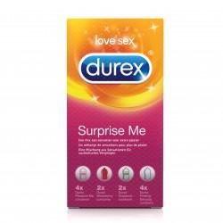 Durex surprise me 12 préservatifs