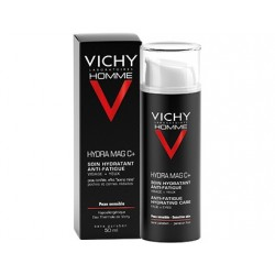 Vichy homme hydra mag c+ soin hydratant anti-fatigue 50ml