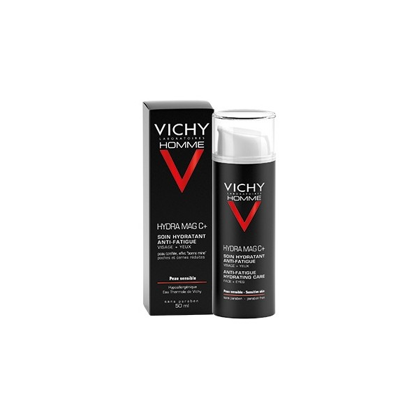 Vichy homme hydra mag c+ soin hydratant anti-fatigue 50ml