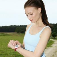 Bracelet cardio pour entrainements sportifs