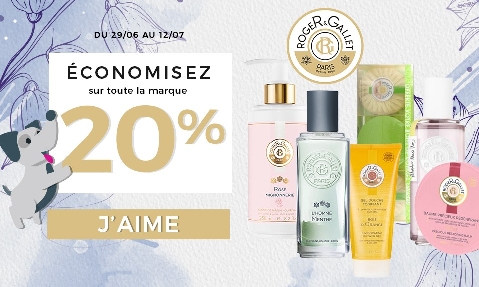 Promotion Roger Gallet