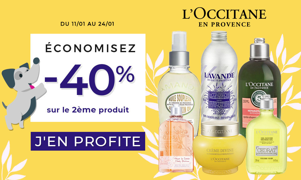 promotion l'occitane