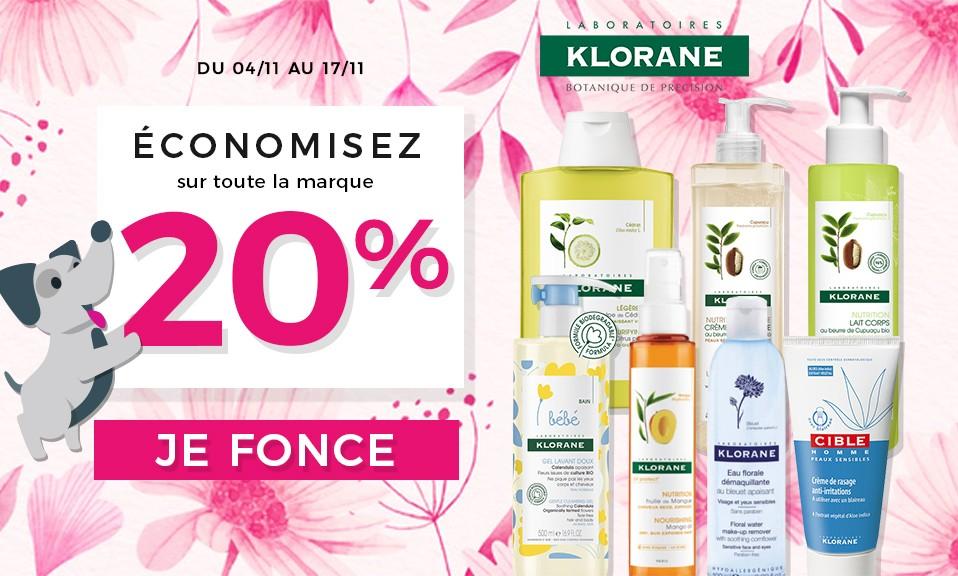 Klorane -20%