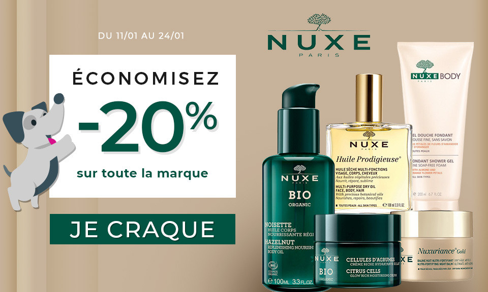promotions nuxe