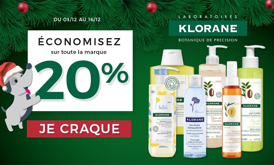 Klorane Décembre 2018