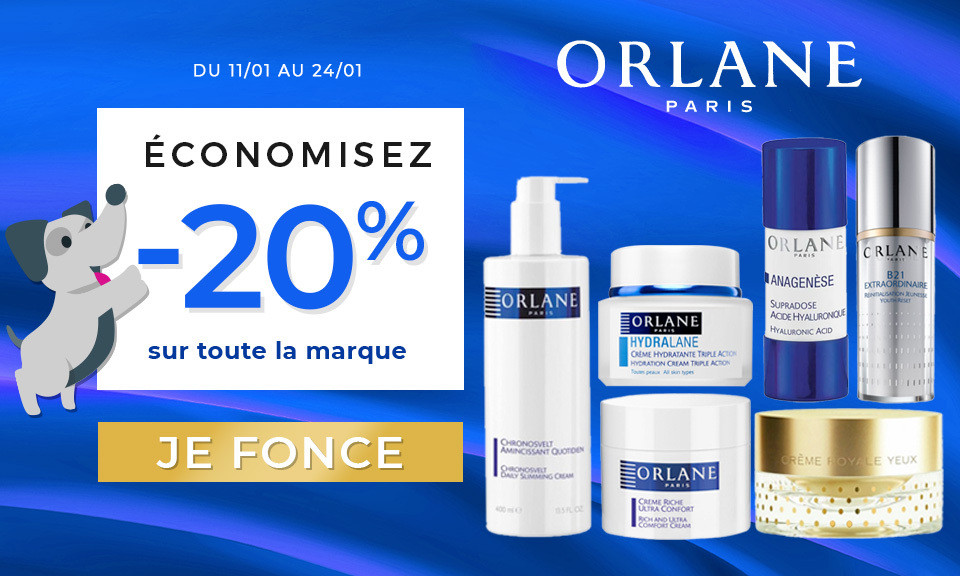 promotions orlane