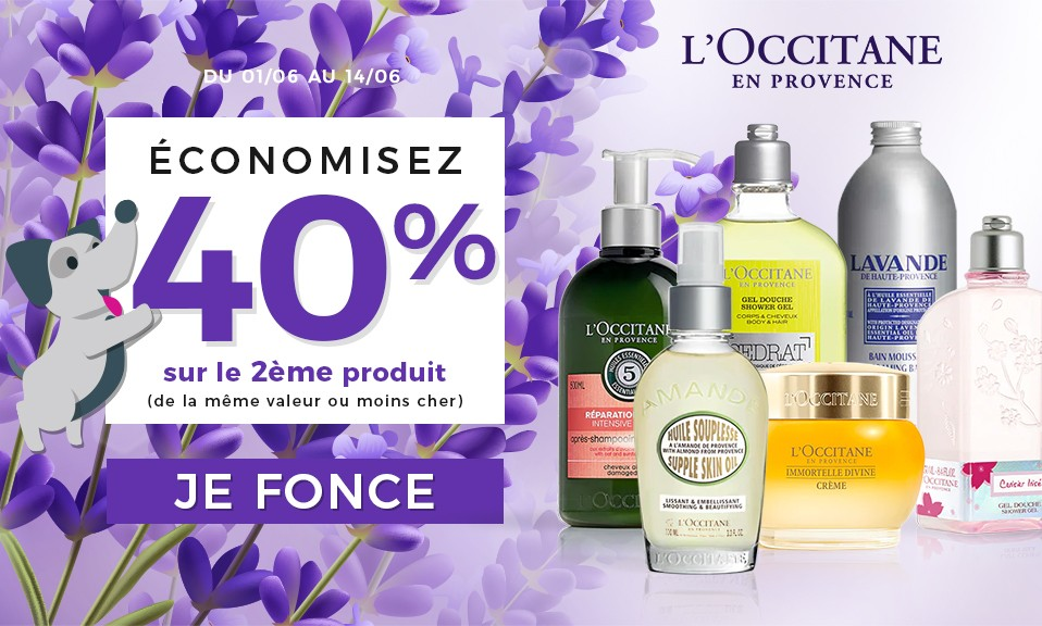 promotion l'occitane